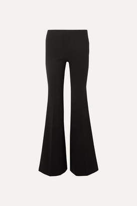 The Row Lanae Wool-blend Flared Pants - Black