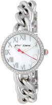 Betsey Johnson Women's Chain Link Bracelet Watch