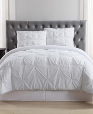 Truly Soft Pleated Full/Queen Duvet Set Bedding