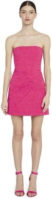 Alice + Olivia Perla Floral Strapless Mini Dress