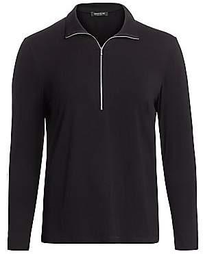 Lafayette 148 New York Lafayette 148 New York, Plus Size Women's Lane Jersey Zip Pullover