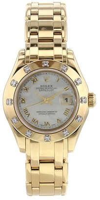 Rolex 1995 pre-owned Datejust Pearlmaster 29mm