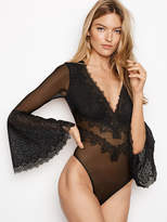 Dream Angels Chantilly Lace Long Sleeve Teddy