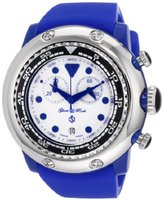 Glam Rock Women's GR20132 Miami Beach Chronograph White Dial Silicone Watch