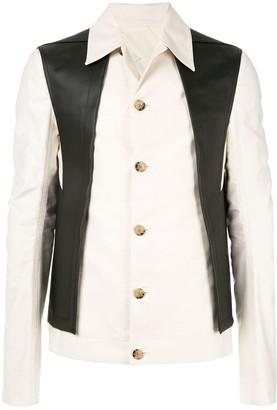 Rick Owens Waistcoat Shirt Jacket