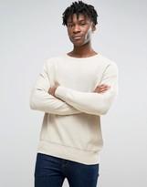 Pull&Bear Sweater In Oatmeal
