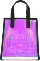 Kenzo logo front tote bag - women - polyurethane - One Size