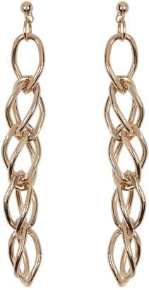Area Stars Mini Chain Dangle Earrings