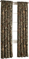 JCPenney Mossy Oak Break Up Infinity 2-Pack Rod-Pocket/Back-Tab Camo Curtain Panels