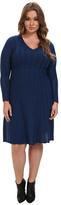 Pendleton Plus Size Black Magic Merino Wool Dress