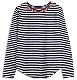 Splendid Girls' Rainbow Rib Tee - Big Kid