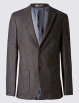 Marks And Spencer Tailored Fit 2 Button Jacket Jacket With Buttonsafetm
