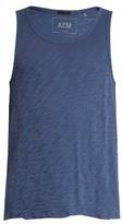 Atm Distressed-hem Cotton-jersey Tank Top