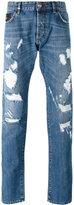 Philipp Plein denim distressed jeans
