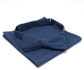 General Knot & Co Dusk Requisite Bow Tie & Pocket Square Set