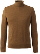 Classic Men's Merino Turtleneck-Toffee Heather