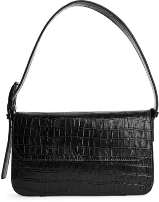Arket Structured Leather Shoulder Bag