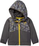 The North Face Front Zip Print Hooded Jacket (Baby Boys)