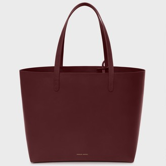 Mansur Gavriel Bordo Large Tote - Bordo