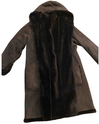 Loewe Brown Fur Coat for Women Vintage