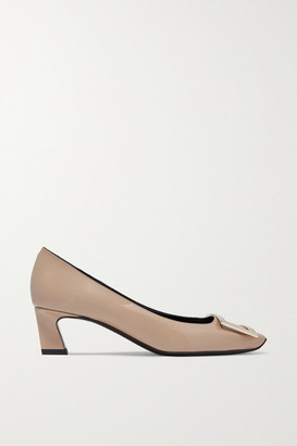Roger Vivier Belle Vivier Trompette Patent-leather Pumps