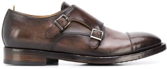 Officine Creative Emory monk strap shoes