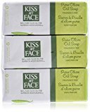 Kiss My Face Bar Soap, Pure Olive Oil, 8 OZ (6 pack)