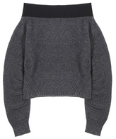 Opening Ceremony Off-the-shoulder Wool-blend Sweater
