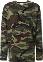 Faith Connexion camouflage print sweatshirt - unisex - Cotton - XS