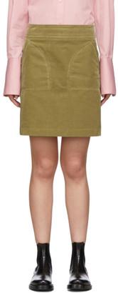 A.P.C. Beige Shanya Miniskirt