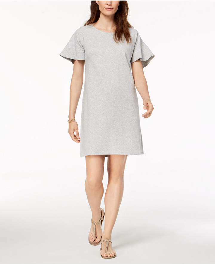 Style&Co. Style & Co Ruffle-Sleeve A-Line Dress, Created for Macy's
