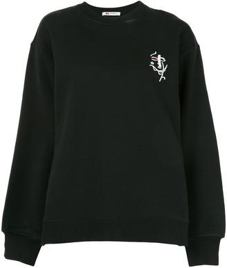 Ports 1961 Split-Cuff Abstract Sweatshirt