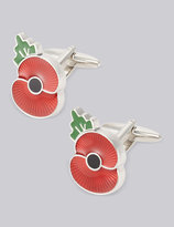 Marks And Spencer The Poppy® Collection Poppy Cufflinks