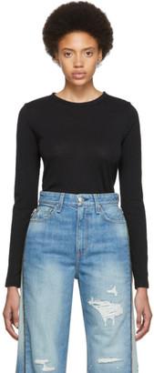 Rag & Bone Black The Long Sleeve T-Shirt