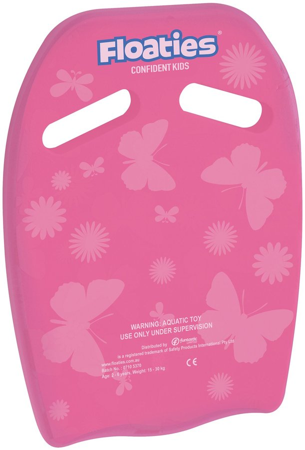 Floaties The Original Kick Board Pink Flowers