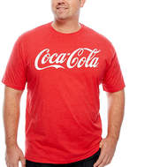 Novelty T-Shirts Coca-Cola Logo Tee - Big & Tall