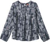 Joe Fresh Kid Girls' Crew Neck Tunic, JF Midnight Blue (Size S)