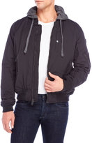 Ben Sherman Hooded Flight Bomber Jacket