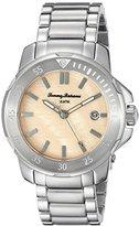 Tommy Bahama Women's 10018298 Laguna Analog Display Japanese Quartz Silver Watch