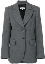 MM6 MAISON MARGIELA wide lapel blazer