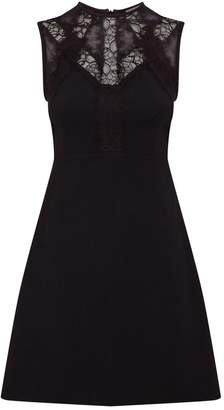 Sandro Lace Detail Dress