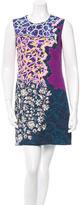 Peter Pilotto Sleeveless Digital Print Dress
