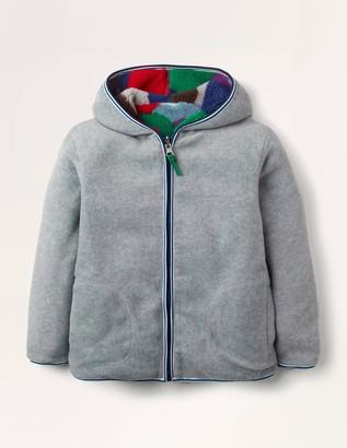 Cosy Reversible Zip-up Hoodie