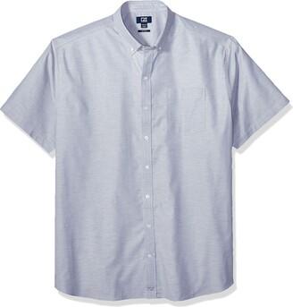 Cutter & Buck Men's Wrinkle Resistant Stretch Short Sleeve Button Down Shirt
