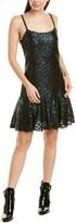 Anna Sui Sea Sparkle Slip Dress