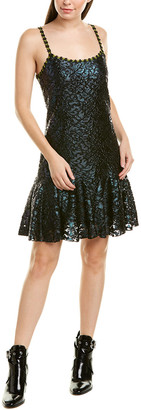 Anna Sui Sea Sparkle Slip Dress