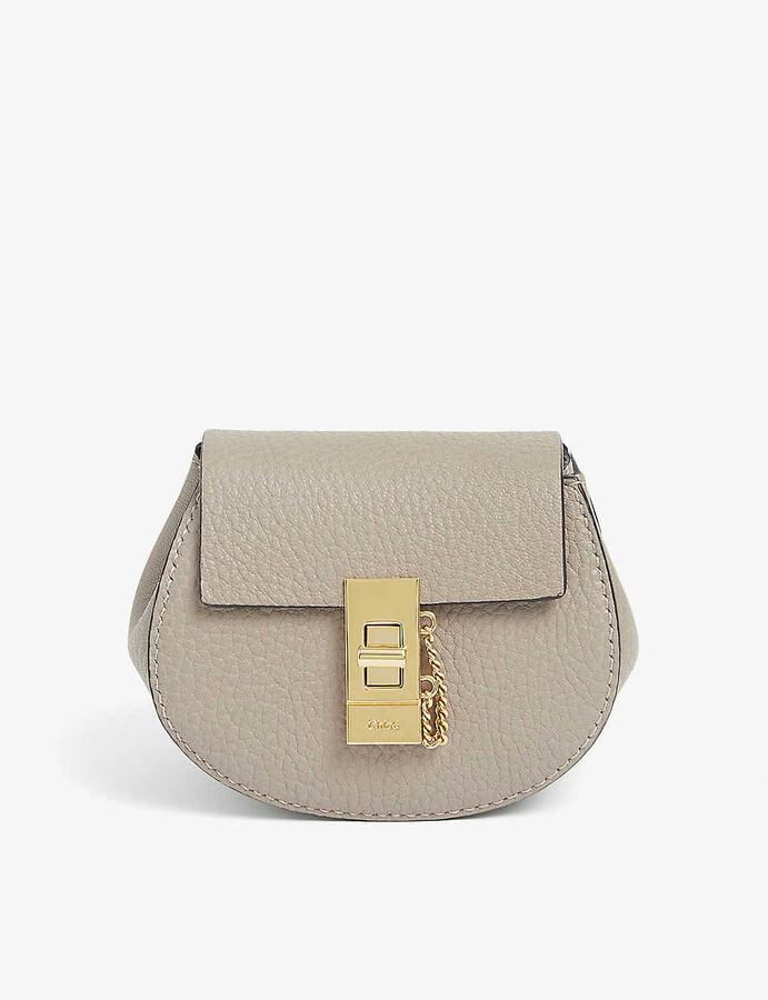 Thumbnail for your product : Chloé Drew Mini leather backpack