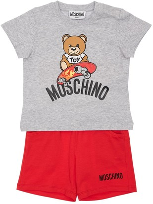 Moschino Cotton Jersey T-shirt & Shorts