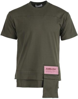 Ambush New Waist Pocket T-shirt Green