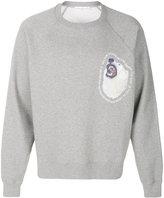 Golden Goose Deluxe Brand polar bear sweatshirt